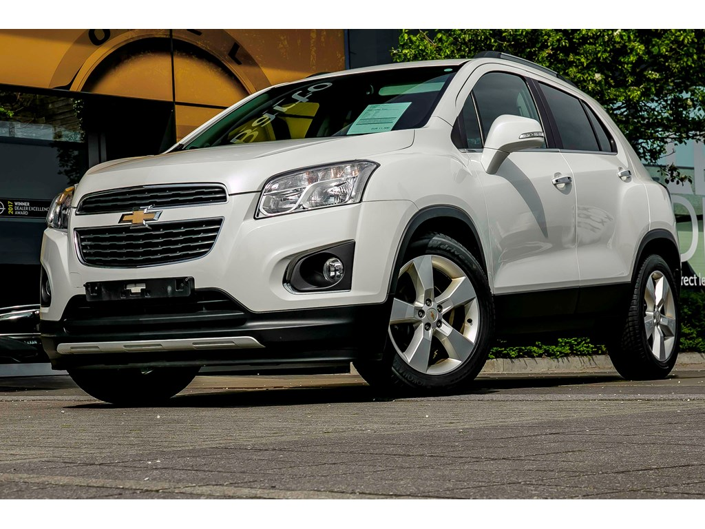 Tweedehands te koop: Chevrolet Trax Wit - 17d 130pk - Leder - Navi - Camera - Bluetooth - Cruisectrl -
