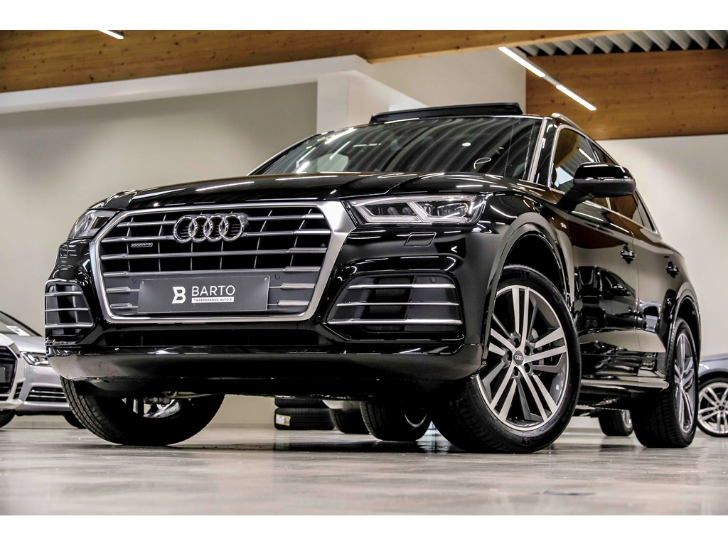 audi q5 new zwart pano dak s line 20 matrix camera virt cockpit wagens. Black Bedroom Furniture Sets. Home Design Ideas