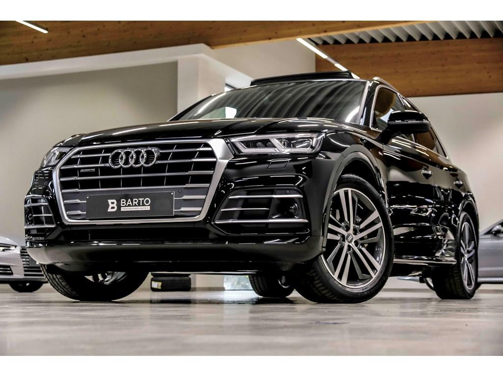 Tweedehands te koop: Audi Q5 New Zwart - RS zetel-BO-Luchtvering-Pano dak-Matrix-20 alu-Full S line