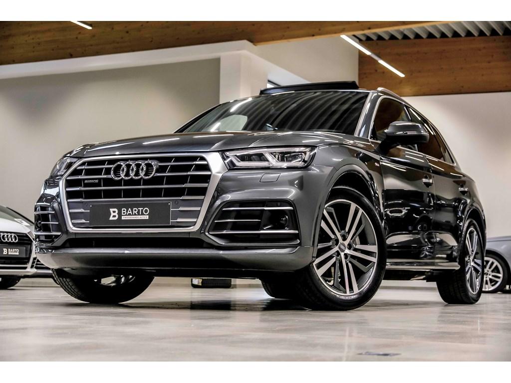Tweedehands te koop: Audi Q5 New Grijs - RS zetel-BO-Luchtvering-Pano dak-Matrix-20 alu-Full S line