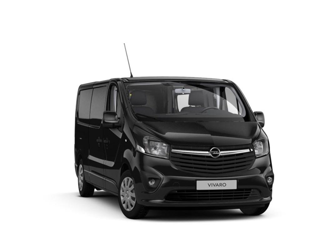 Tweedehands te koop: Opel Vivaro Zwart - Gesloten Bestelwagen 3pl L2H1 16 CDTi 125pk Sportive - Nieuw