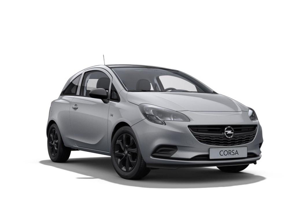 Tweedehands te koop: Opel Corsa Grijs - 3-Deurs 12 Benz 70pk Black Edition - Nieuw