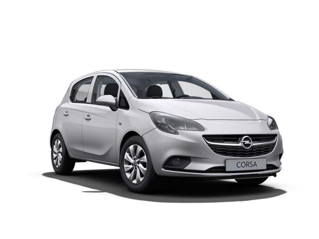 Tweedehands te koop: Opel Corsa Zilver - 5-Deurs 12 Benz 70pk Enjoy - Nieuw
