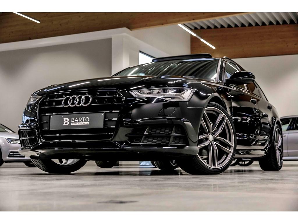 Tweedehands te koop: Audi A6 Zwart - 190 pk - Shadow line - 20 RS design - Pano open dak - NIEUW