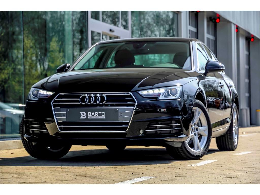 Audi-A4-Zwart-sport-190pk-S-tronic-Virtual-Cockpit-Navi-MMI-plus-NIEUW