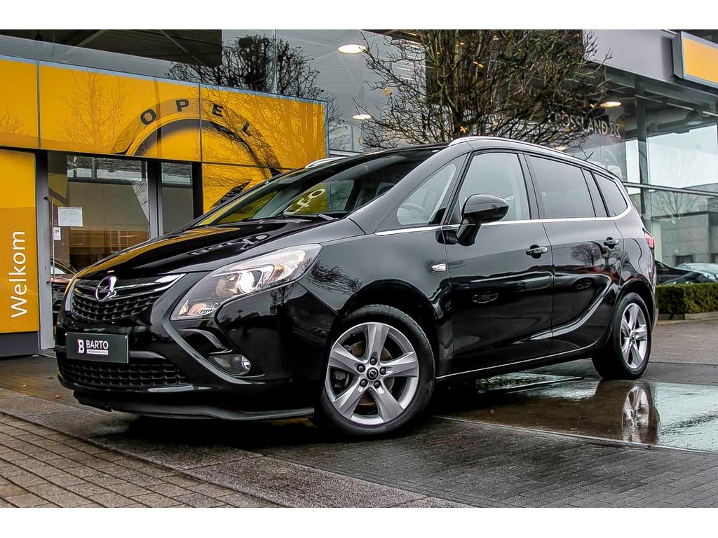 Opel-Zafira-Tourer-Zwart-Cosmo-16-CDTi-136pk-Navigatie-7-pl-Parkeersensoren-Elektr-airco-