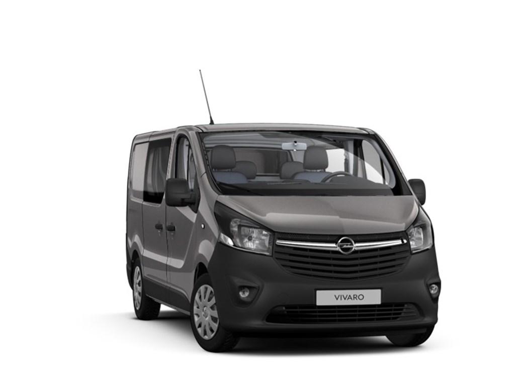 Tweedehands te koop: Opel Vivaro Grijs - Dubbele Cabine Edition L1H1 - 16 CDTi 125pk - Nieuw