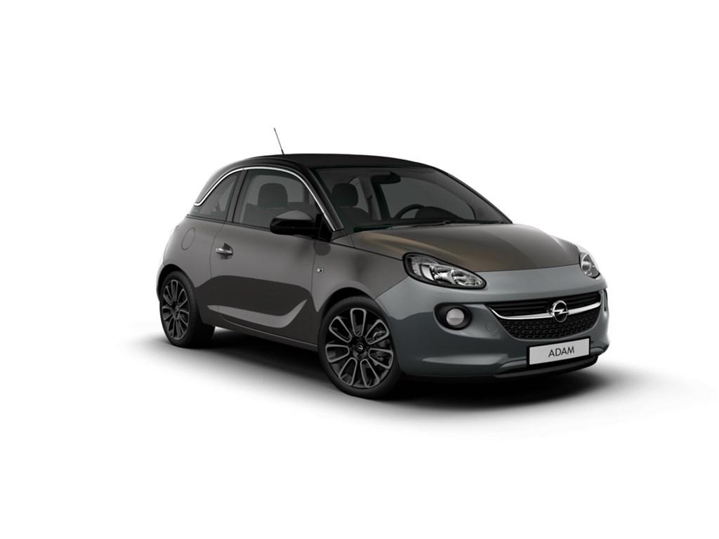 Tweedehands te koop: Opel ADAM Grijs - Open Air 12 Benz 70pk - Nieuw - Intellilink - Parkeersens
