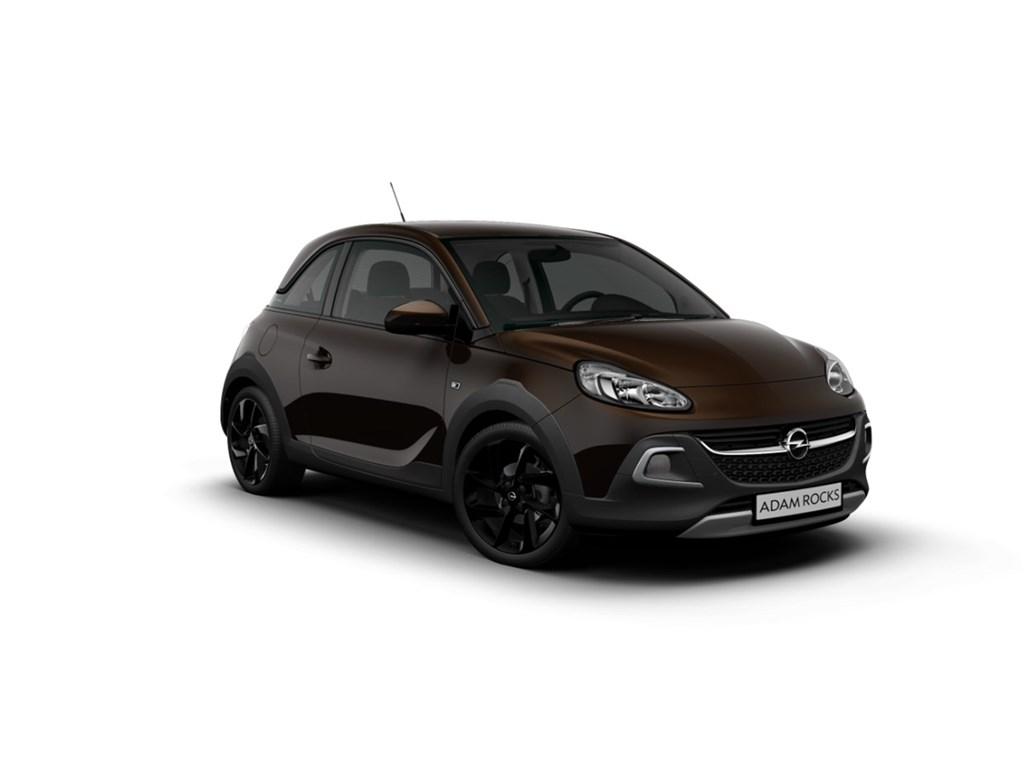 Tweedehands te koop: Opel ADAM Bordeaux - Rocks 12 Benz 70pk - Nieuw - Intellilink - Lederen interieur - Parkeersensoren achter