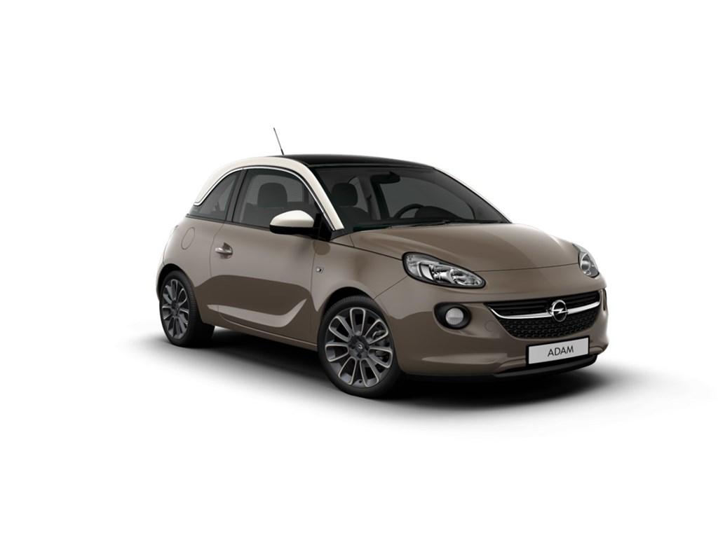 Tweedehands te koop: Opel ADAM Bruin - GLAM 12 Benz 70pk - Nieuw - Elektronische Airco - Panorama Dak -