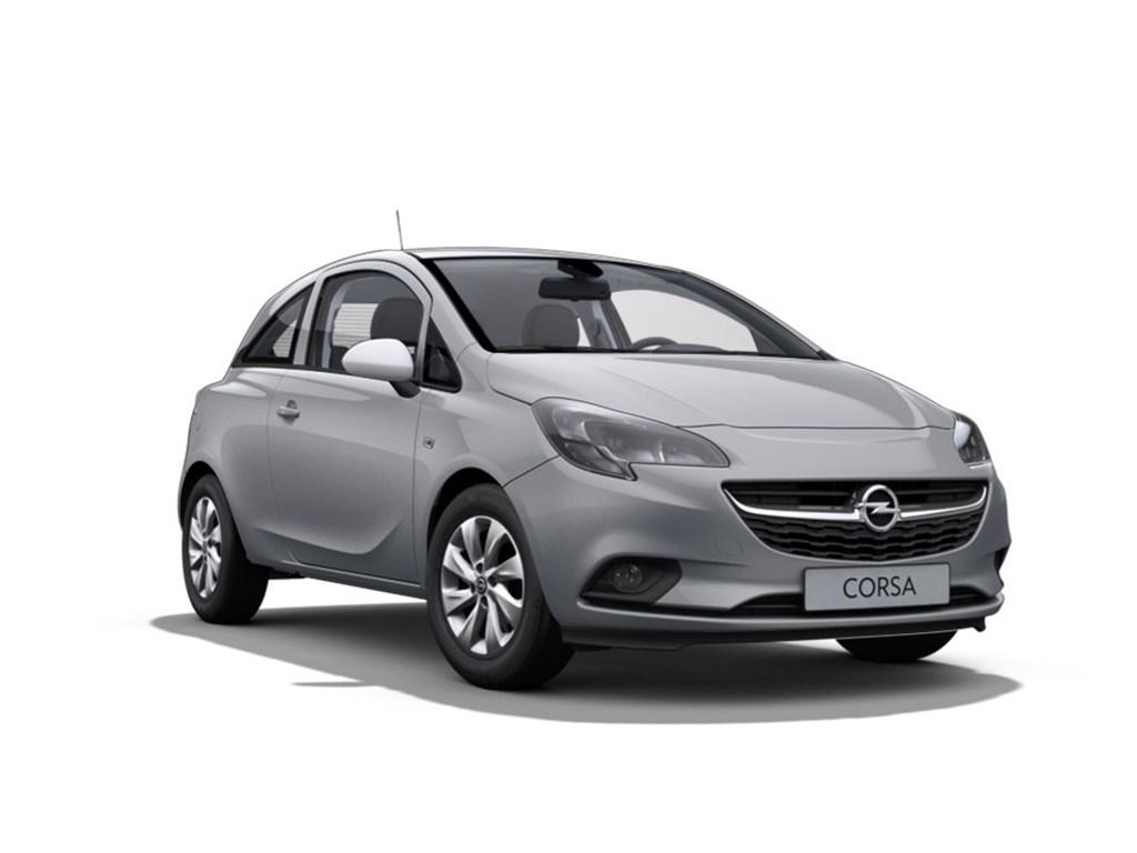 Tweedehands te koop: Opel Corsa Grijs - 3-Deurs Enjoy 12 Benz 70pk - Nieuw