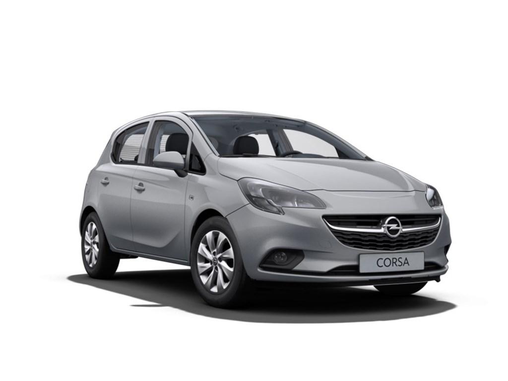 Tweedehands te koop: Opel Corsa Grijs - 5-Deurs Enjoy 10 Turbo Benz 90pk - Nieuw