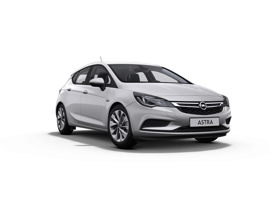 Tweedehands te koop: Opel Astra Zilver - 5-Deurs 10 Turbo Benz 105pk Edition - Nieuw - Navi - Park Pilot voor en achter -