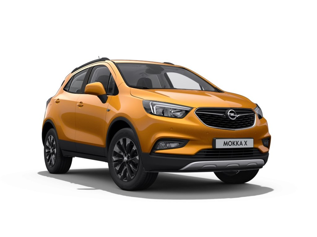 Tweedehands te koop: Opel Mokka Oranje - X Black Edition 14 Turbo Benz AUTOMAAT - Nieuw - Navigatie - 18 inch velgen -
