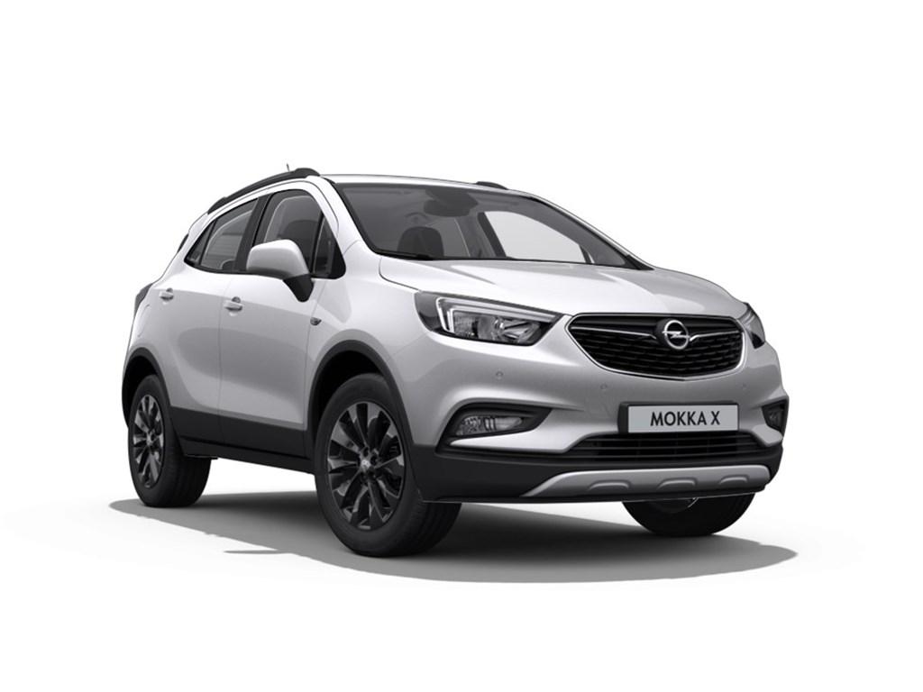 Opel-Mokka-Zilver-X-Black-Edition-14-Turbo-Benz-AUTOMAAT-Nieuw-Navigatie-18-inch-velgen-