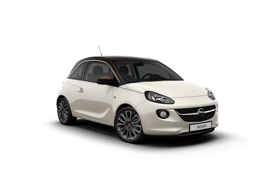 Tweedehands te koop: Opel ADAM Wit - Unlimited 12 Benz 70pk - NIEUW - Intellilink Navi - Parkeersensoren - Airco