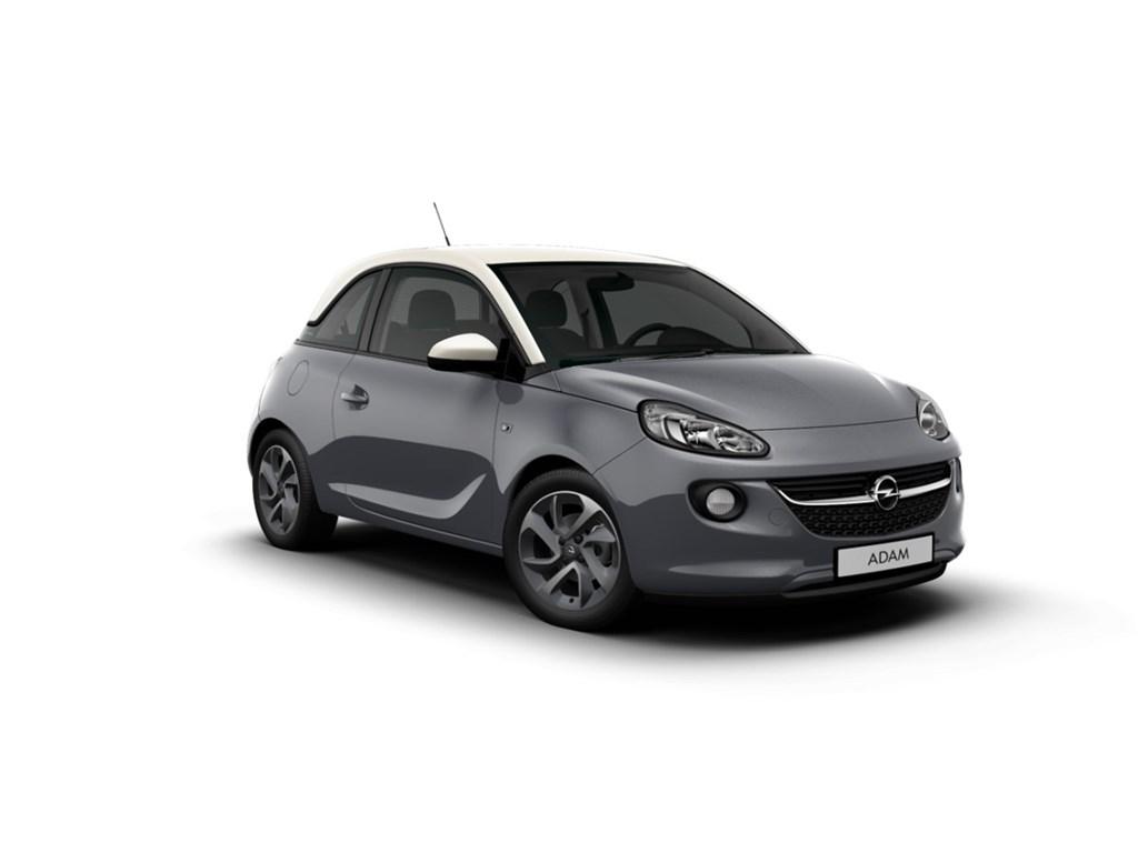 Tweedehands te koop: Opel ADAM Grijs - Jam 12 Benz 70pk - Nieuw - Intellilink Navi - Parkeersens