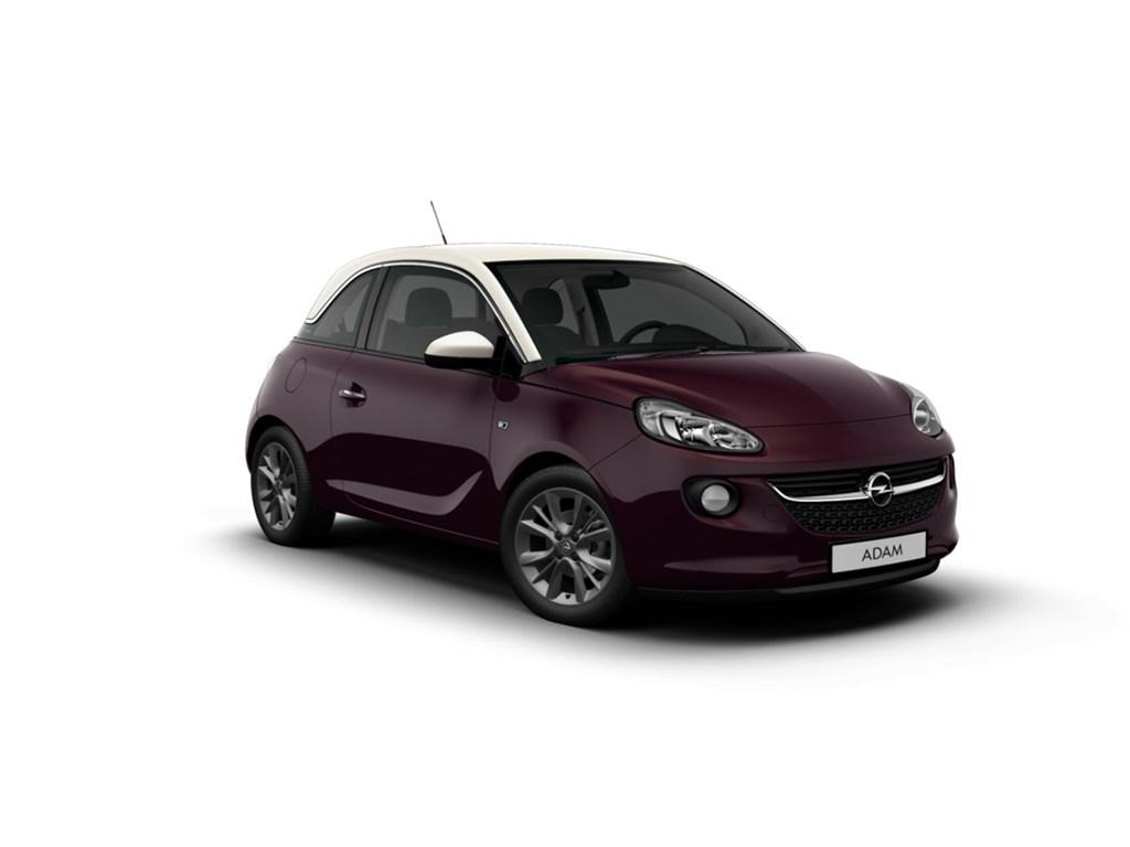 Tweedehands te koop: Opel ADAM Purper - Jam 12 Benz 70pk - Nieuw - Intellilink Navi - Parkeersens
