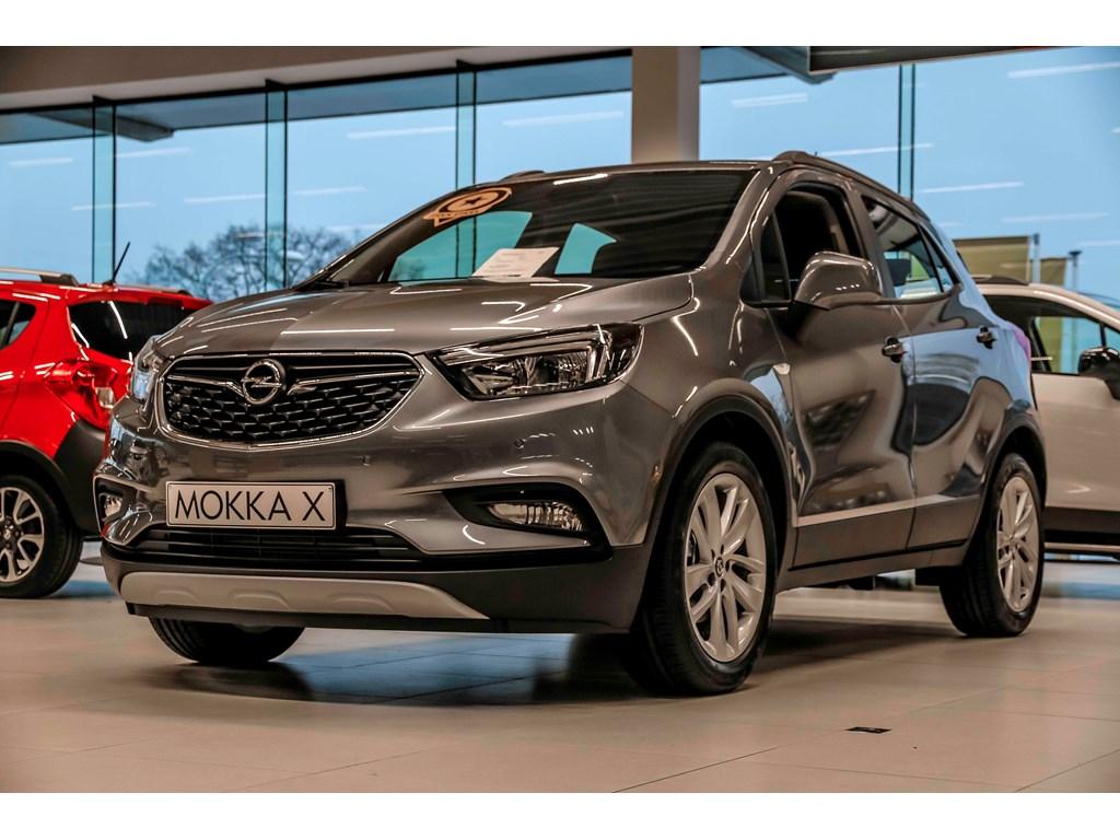 Tweedehands te koop: Opel Mokka Grijs - Edition - 14 Turbo 140pk - man 6 versn - Nieuw - Achteruitrijcamera - Navigatie - Parkeersens