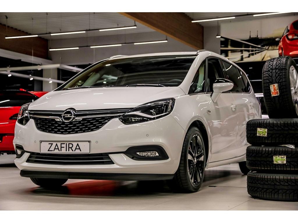 Tweedehands te koop: Opel Zafira Wit - 14 Turbo Innovation - Nieuw