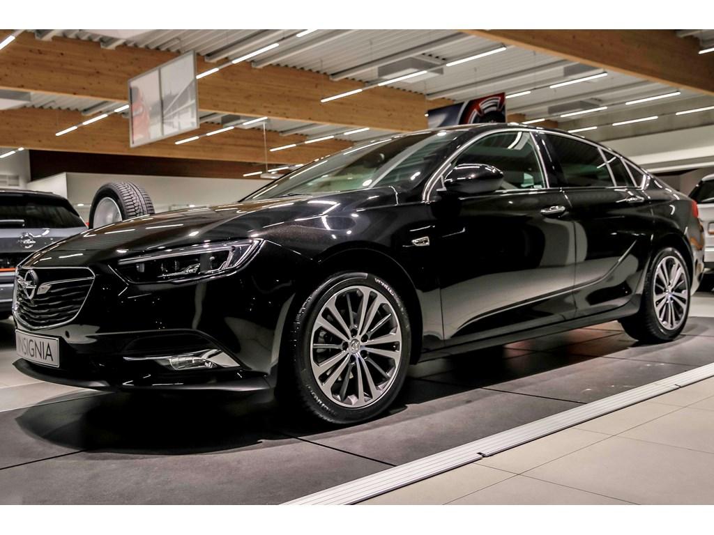 Tweedehands te koop: Opel Insignia Zwart - Grand Sport Innovation - 15 Turbo 140pk - Nieuw - Leder -
