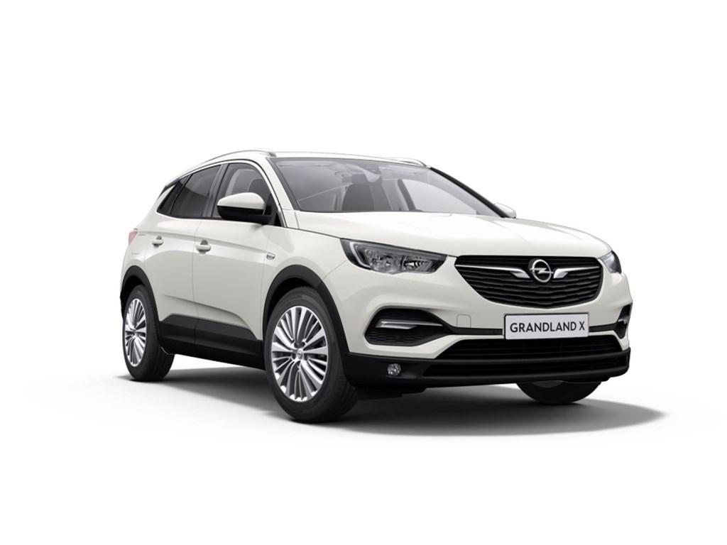 Tweedehands te koop: Opel Grandland X Wit - 12 Turbo Benz 130pk Innovation - Nieuw - Manueel 6 versn
