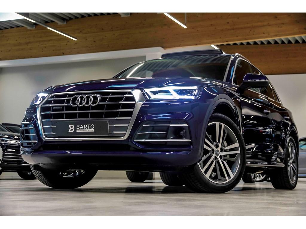 Tweedehands te koop: Audi Q5 New Blauw - RS zetel-BO-Luchtvering-Pano dak-Matrix-20 alu-Full S line