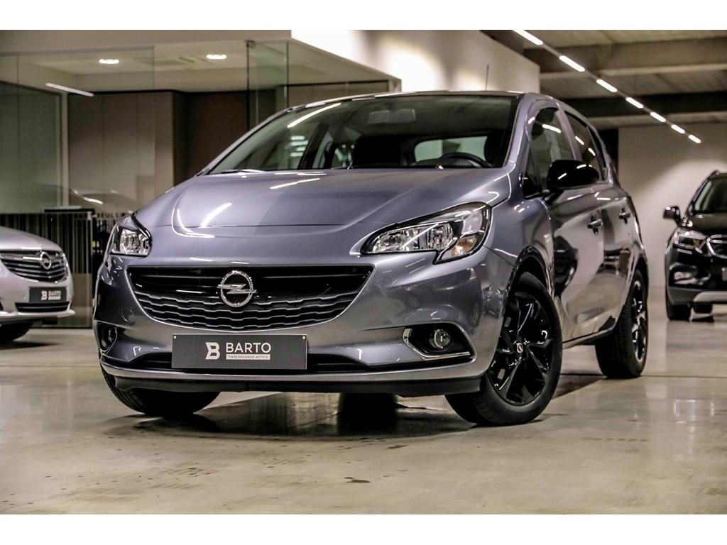 Tweedehands te koop: Opel Corsa Grijs - 14B 90pk - Black Edition - intellilink - Weinig Kms