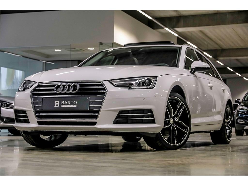 Tweedehands te koop: Audi A4 Wit - Sport - Pano dak - Leder - 19 velgen - NIEUW - privacy -