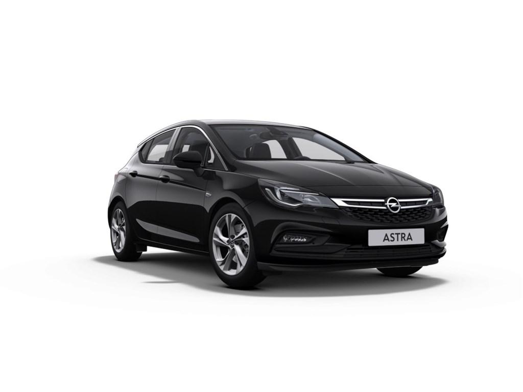 Tweedehands te koop: Opel Astra Zwart - 5-Deurs 14 Turbo Benz 125pk Innovation - Nieuw - Navigatie - Verkeersbordherkenning -