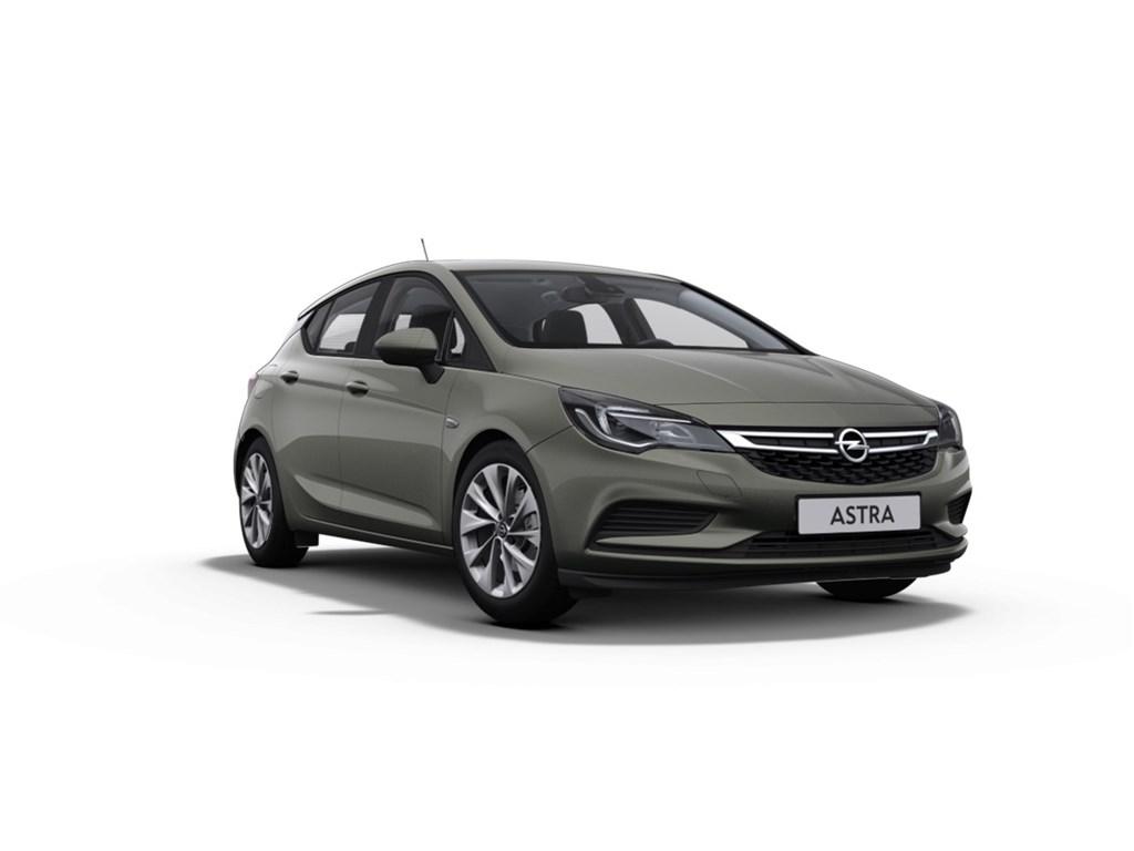 Tweedehands te koop: Opel Astra Grijs - 5-Deurs 10 Turbo Benz 105pk Edition - Nieuw - Navi - Park Pilot voor en achter -