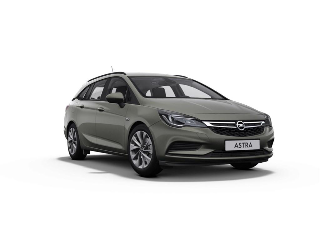 Tweedehands te koop: Opel Astra Grijs - Sports Tourer 14 Turbo 125pk Edition - Nieuw - Navigatie - Parkpilot voor en achter