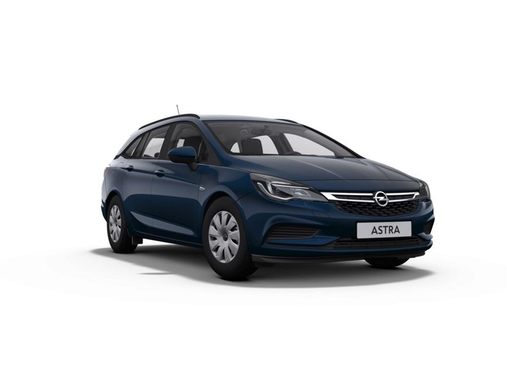 Tweedehands te koop: Opel Astra Blauw - Sports Tourer 14 Benz 100pk Comfort - Nieuw