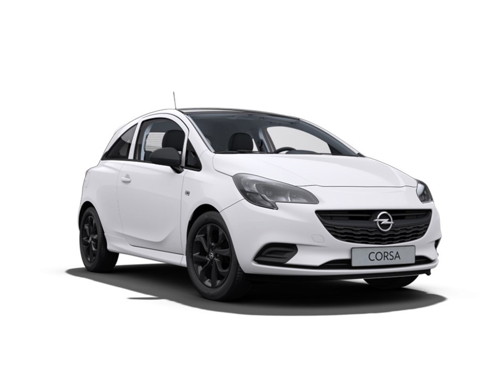 Tweedehands te koop: Opel Corsa Wit - 3-Deurs 14 Benz Black Edition 90pk - Nieuw - OPC Line Exterior en Interior