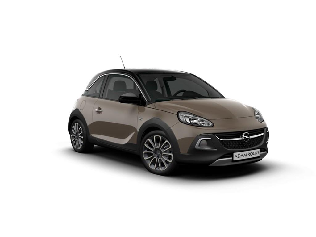 Tweedehands te koop: Opel ADAM Bruin - Rocks 12 Benz 70pk - Nieuw - Intellilink - Parkeersensoren achter