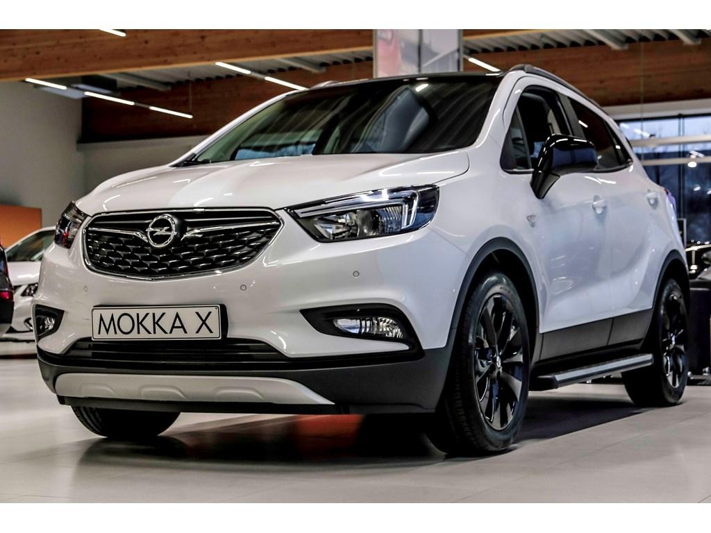Tweedehands te koop: Opel Mokka Wit - X Black Edition 14 Turbo Benz Manueel 6 versn - Nieuw - Navigatie - 18 inch velgen -