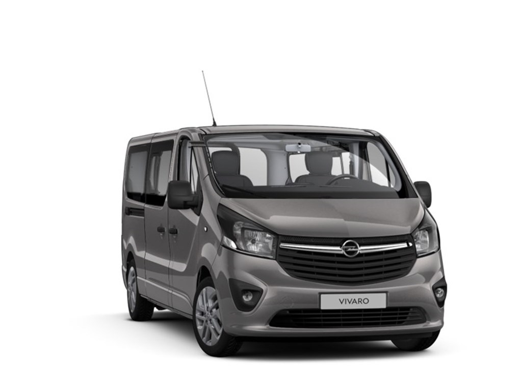 Tweedehands te koop: Opel Vivaro Anthraciet - Combi Tourer L2H1 - 16 CDTi 146pk - 7 plaatsen - Nieuw - Navi - Achteruitrijcamera -