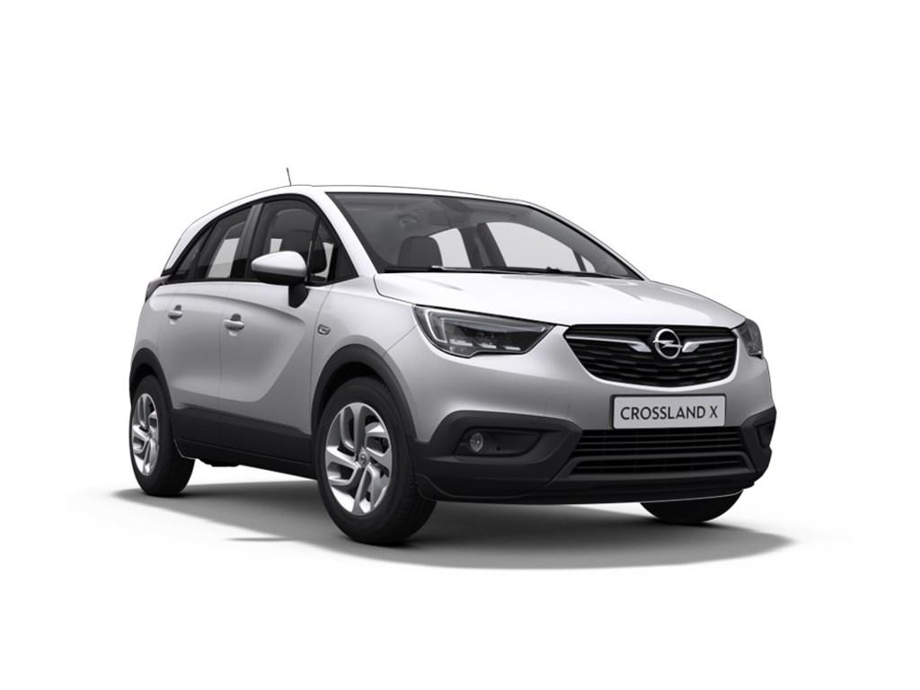 Tweedehands te koop: Opel Crossland X Zilver - Edition 12 Turbo Benz manueel 5 - 110pk - Nieuw - Navi