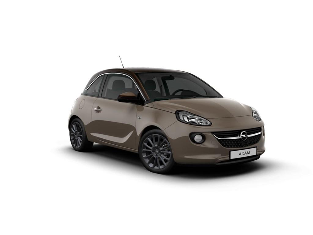 Tweedehands te koop: Opel ADAM Bruin - Unlimited 12 Benz 70pk - NIEUW - Intellilink Navi - Parkeersensoren - Airco