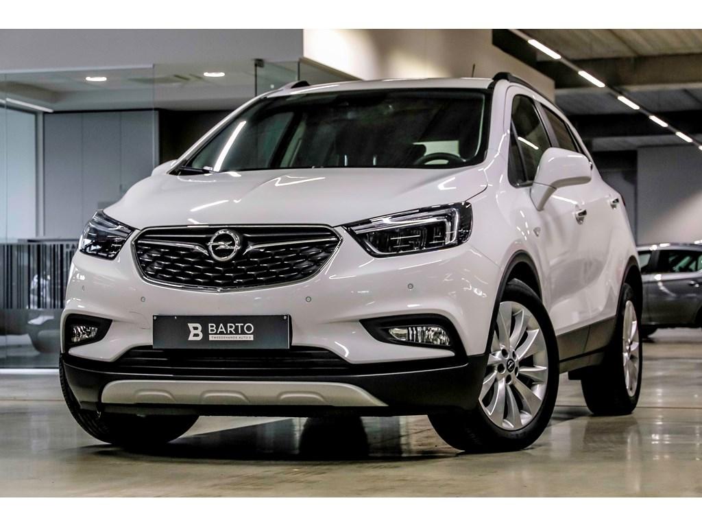 Tweedehands te koop: Opel Mokka Wit - 14T Autom - Innovation - Leder - Matrix - Keyless - Weinig kms