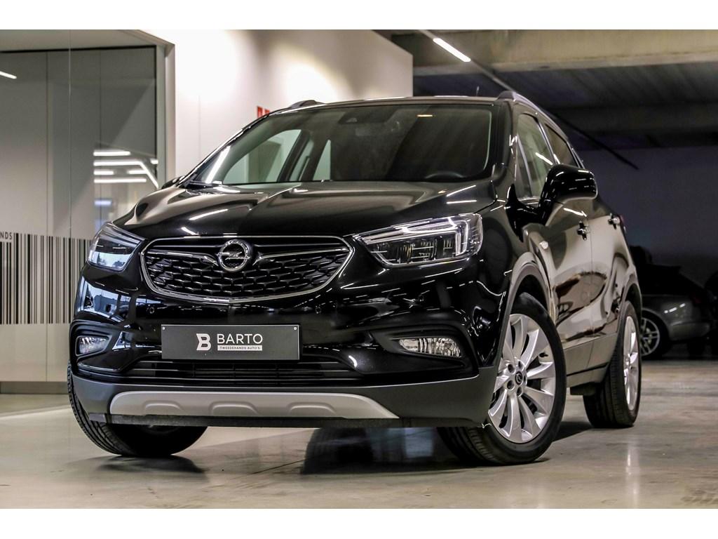 Tweedehands te koop: Opel Mokka Zwart - 14T Autom - Innovation - Leder - Matrix - Keyless - Weinig kms