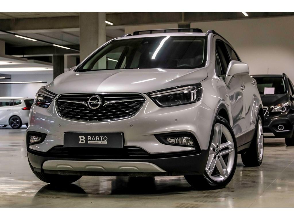 Tweedehands te koop: Opel Mokka Grijs - 14T Autom - Innov - Open dak - Leder - Matrix - Keyless - Weinig kms