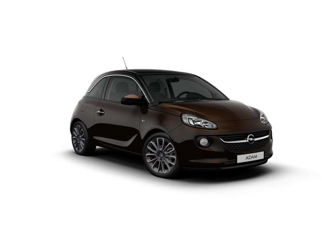 Tweedehands te koop: Opel ADAM Bordeaux - GLAM 12 Benz 70pk - Nieuw - Elektronische Airco - Panorama Dak -