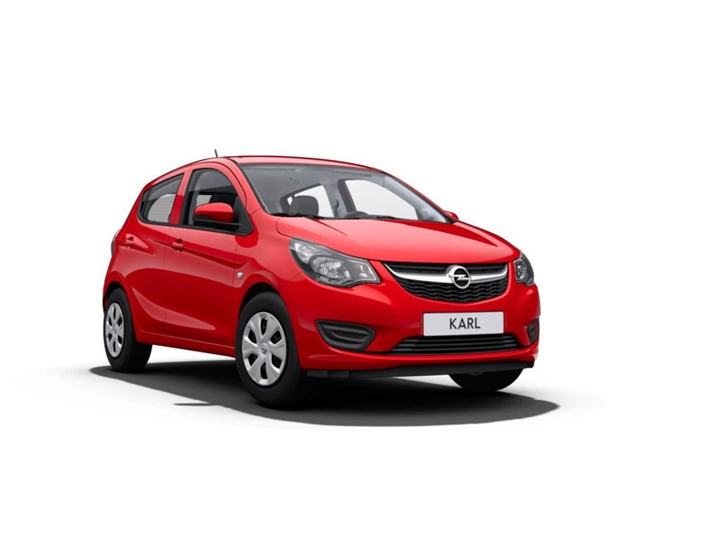 Tweedehands te koop: Opel KARL Rood - 10 Benz Enjoy - Nieuw