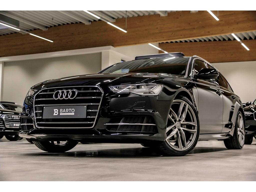 Tweedehands te koop: Audi A6 Zwart - 190pk - S line - Panor dak - 20 - LED - NIEUW - privacy glas