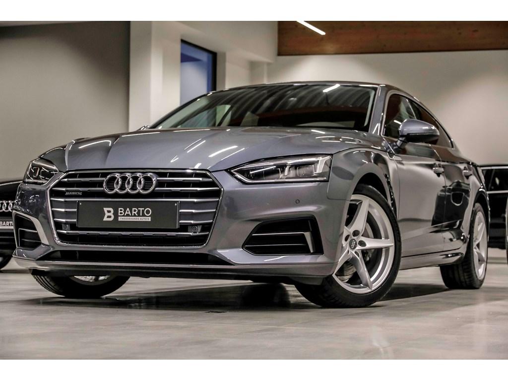 Tweedehands te koop: Audi A5 New Grijs - Sport - 190 pk - Quattro - LED - MMI plus - Leder - Camera - Lane assist