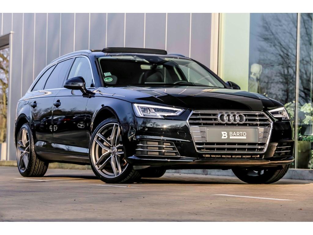 Tweedehands te koop: Audi A4 Zwart - 190 PK - Full LED - Pano dak - Virt Cockpit - 19 alu - Head UP -