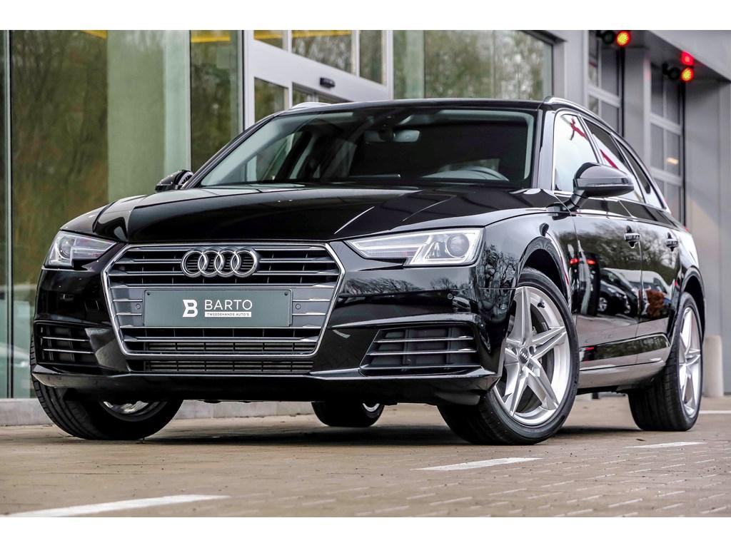 Tweedehands te koop: Audi A4 Zwart - 20 TFSI 190pk - Sport - Leder - Virt cockpit - privacy -