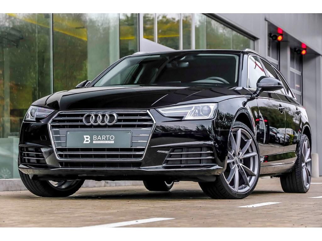 Tweedehands te koop: Audi A4 Zwart - Sport - S-tronic - Leder sportz - Virtual C - 19 Bicolor - Demo wagen - Promo