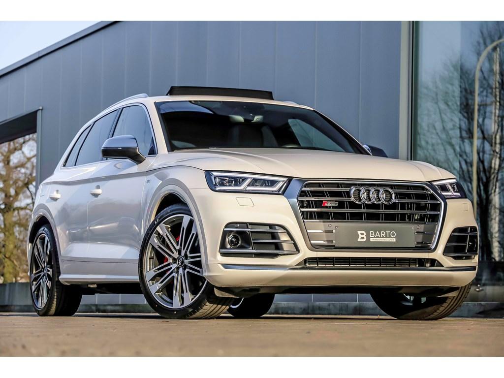Tweedehands te koop: Audi SQ5 Wit - V6 TFSI - NIEUW - ACC - Head Up - 21 - Pano dak - BO 3D Sound -